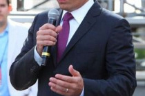 Jimmy Fallon at the red carpet rollout for the 62nd Primetime Emmy Awards held at the Nokia Theatre