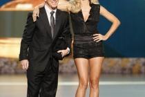 Tom Bergeron & Heidi Klum at the 60th Primetime Emmys