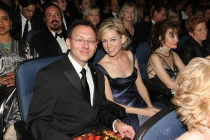 Michael Emerson & Carrie Preston - 60th Primetime Emmys - Show & Audience