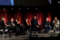 Meg Masters, Kurt Sutter, Katey Sagal, Maggie Siff, Jimmy Smits, Dayton Callie, Paris Barclay