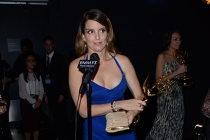 Tina Fey at the Backstage Live Thank You Cam