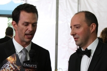 Tony Hale speaks with Marc Istook at the Backstage Live Social Media Cam.