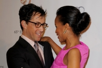 Dan Bucatinsky and Kerry Washington