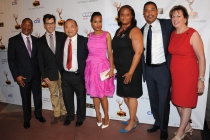 Mathis Dunn, Dan Bucatinsky, Clyde Kusatsu, Kerry Washington, Sharon Liggins, David White and Ilyanne Morden Kichaven