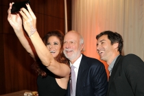Debra Messing, James Burrows and Eric McCormack