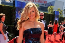 Connie Britton arrives at the 62nd Primetime Emmy Awards