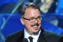 Vince Gilligan accepts the award for Outstanding Drama Series