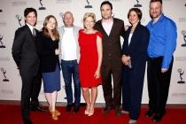 Nurse Jackie cast: Peter Facineli, Merritt Wever, Paul Schulze, Edie Falco, Dominic Fumusa, Anna Deavere Smith, Stephen Wallem