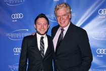 Nate Corddry and Christopher McDonald arrive at the 5th Annual Television Academy Honors