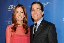 Dana Delany and Bruce Rosenblum arrive at the 5th Annual Television Academy Honors
