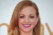 Jayma Mays arrives at the Academy of Television Arts & Sciences 63rd Primetime Emmy Awards at Nokia Theatre L.A. Live