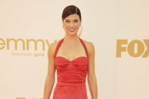 Adrianne Palicki arrives at the Academy of Television Arts & Sciences 63rd Primetime Emmy Awards at Nokia Theatre L.A. Live