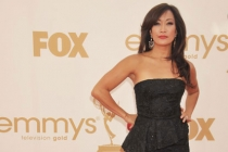 Carrie Ann Inaba arrives at the Academy of Television Arts & Sciences 63rd Primetime Emmy Awards at Nokia Theatre L.A. Live
