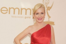 Angela Kinsey arrives at the Academy of Television Arts & Sciences 63rd Primetime Emmy Awards at Nokia Theatre L.A. Live