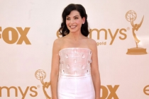 Julianna Margulies arrives at the Academy of Television Arts & Sciences 63rd Primetime Emmy Awards at Nokia Theatre L.A. Live