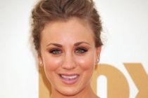 Kaley Cuoco arrives at the Academy of Television Arts & Sciences 63rd Primetime Emmy Awards at Nokia Theatre L.A. Live