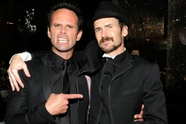 (L-R) Walton Goggins and Jeremy Davies attend the Academy of Television Arts & Sciences 2011 Primetime Creative Arts Emmy Awards