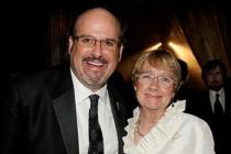 Brian Sheesley and Kathryn Joosten