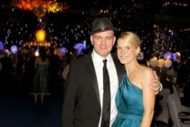 Lisa O'Malley and actor Mike O'Malley attend Governor's Ball during the 62nd Primetime Creative Arts Emmy Awards