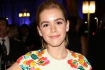 Kiernan Shipka at the Governors Ball