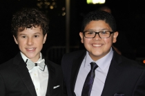 Nolan Gould and Rico Rodriguez at the Governors Ball