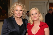 Hall of Fame inductee Candice Bergen and Amy Poehler, host of the Hall of Fame Induction Gala.
