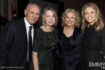 Joe Regalbuto, Diane English, Candice Bergen and Faith Ford.