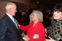 Tom Smothers, Betty White and Joanne Worley.