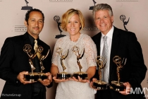 Jose Hernandez, Tara Wallis, Chuck Henry at the LA Area Regional Emmys