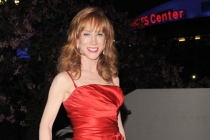 Kathy Griffin arrives at the Academy of Television Arts & Sciences 63rd Primetime Emmy Awards