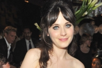 Zooey Deschanel attends the Governors Ball during the Academy of Television Arts & Sciences 63rd Primetime Emmy Awards