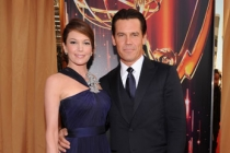 (L-R) Diane Lane and Josh Brolin arrive at the Academy of Television Arts & Sciences 63rd Primetime Emmy Awards