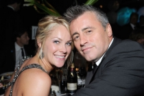 Matt LeBlanc (L) and Andrea Anders attend the Governors Ball