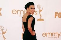 Naya Rivera arrives at the Academy of Television Arts & Sciences 63rd Primetime Emmy Awards