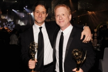 "Co-Executive Producers of ""Glee"" Bill Wrubel (L) and Jeff Morton attend the Governors Ball"
