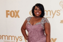 Amber Riley arrives at the Academy of Television Arts & Sciences 63rd Primetime Emmy Awards