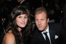 Scott Caan (R) and guest attend the Governors Ball