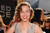 Kristen Schaal arrives at the Academy of Television Arts & Sciences 63rd Primetime Emmy Awards