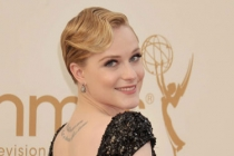 Evan Rachel Wood arrives at the Academy of Television Arts & Sciences 63rd Primetime Emmy Awards