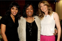 Kerry Washington, Shonda Rhimes and Ellen Pompeo attend Welcome to Shondaland