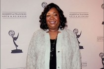 Shonda Rhimes arrives at Welcome to Shondaland