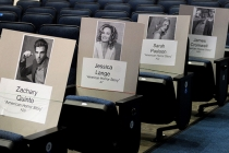 A frightfully fun place to sit for the 65th Emmy Awards.