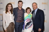 Allison Williams, Andrew Rannells, Lena Dunham, Kevin Hamburger
