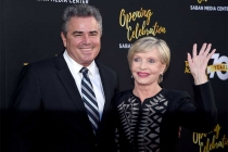 Christopher Knight and Florence Henderson at the Television Academy's 70th Anniversary Gala and Opening Celebration for its new Saban Media Center on June 2, 2016