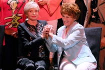 Florence Henderson and Marion Ross at the Television Academy's 70th Anniversary Gala and Opening Celebration for its new Saban Media Center on June 2, 2016