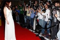 Amanda Righetti at the 31st College Television Awards