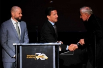 Jon Cryer, Bruce Rosenblum, and Garry Marshall at the Television Academy's 70th Anniversary Gala and Opening Celebration for its new Saban Media Center on June 2, 2016