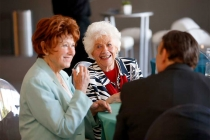 Marion Ross and Charlotte Rae at the Television Academy's 70th Anniversary Gala and Opening Celebration for its new Saban Media Center on June 2, 2016