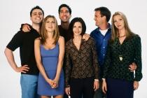 Friends stars Matt LaBlanc, Jennifer Aniston, David Schwimmer, Courtney Cox, Matthew Perry and Lisa Kudrow.