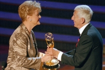Angela Lansbury and Aaron Spelling